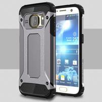 Armory odolný obal na mobil Samsung Galaxy S7 - šedý