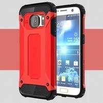 Armory odolný obal na mobil Samsung Galaxy S7 - červený