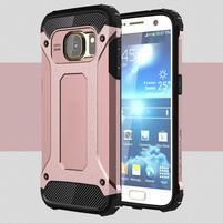 Armory odolný obal na mobil Samsung Galaxy S7 - růžovozlatý