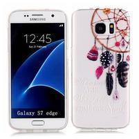 Shelly transparentní gelový obal na Samsung Galaxy S7 Edge - lapač snů