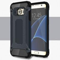 Armory odolný obal na Samsung Galaxy S7 Edge - tmavomodrý