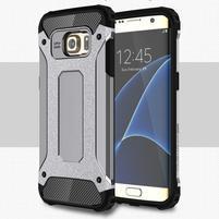 Armory odolný obal na Samsung Galaxy S7 Edge - šedý