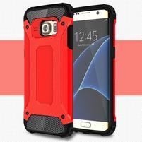 Armory odolný obal na Samsung Galaxy S7 Edge - červený