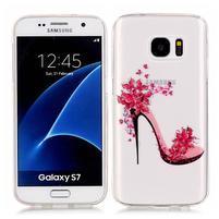 Shelly transparentní gelový obal na Samsung Galaxy S7 - střevíček