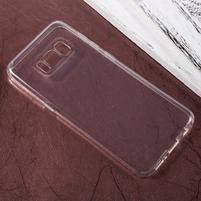 Trans slim gelový obal na mobil Samsung Galaxy S8 - průhledný