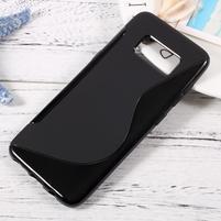 SLine gelový obal pro telefon Samsung Galaxy S8 - černý