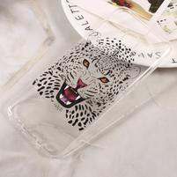 Paint gelový obal na Samsung Galaxy S8 - leopard