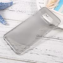 SLine gelový obal pro telefon Samsung Galaxy S8 - šedý