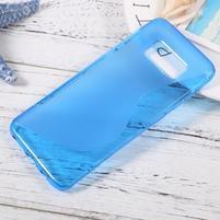 SLine gelový obal pro telefon Samsung Galaxy S8 - modrý