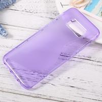SLine gelový obal pro telefon Samsung Galaxy S8 - fialový