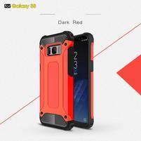 Armory odolný obal 2v1 na mobil Samsung Galaxy S8 - červené