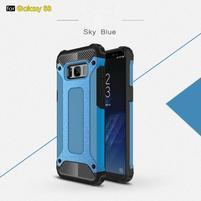 Armory odolný obal 2v1 na mobil Samsung Galaxy S8 - světlemodré