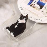 Paint gelový obal na Samsung Galaxy S8 - černá kočička