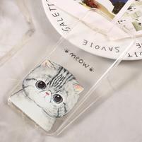 Paint gelový obal na Samsung Galaxy S8 - kočka