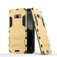 Guard odolný obal na mobil Samsung Galaxy S8 - zlatý