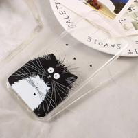 Paint gelový obal na Samsung Galaxy S8 - kocour