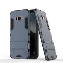 Guard odolný obal na mobil Samsung Galaxy S8 - šedomodrý