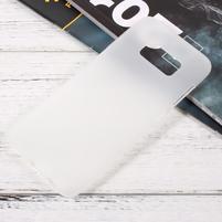 Finger matný gelový obal na mobil Samsung Galaxy S8 - bílý