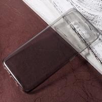 Trans slim gelový obal na mobil Samsung Galaxy S8 - šedý