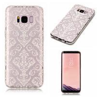 Patty gelový obal na Samsung Galaxy S8 - damask