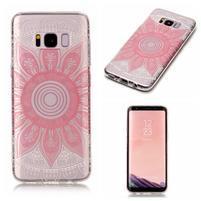 Patty gelový obal na Samsung Galaxy S8 - růžový květ