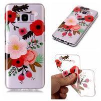 Patty gelový obal na Samsung Galaxy S8 - květiny