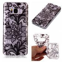 Patty gelový obal na Samsung Galaxy S8 - květy