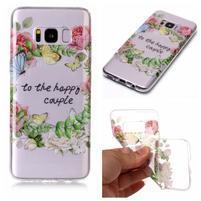 Patty gelový obal na Samsung Galaxy S8 - girlanda