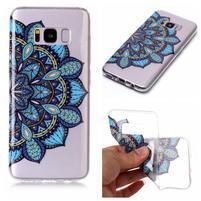 Patty gelový obal na Samsung Galaxy S8 - modrá mandala