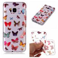 Patty gelový obal na Samsung Galaxy S8 - Motýlci