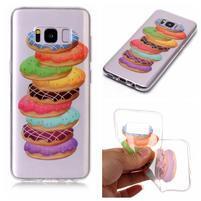 Patty gelový obal na Samsung Galaxy S8 - makronky
