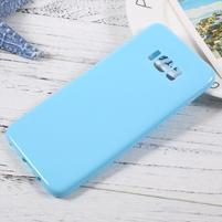 GT lesklý gelový obal na Samsung Galaxy S8 Plus - světlemodrý