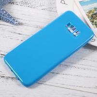 GT lesklý gelový obal na Samsung Galaxy S8 Plus - modrý
