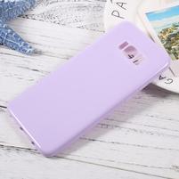 GT lesklý gelový obal na Samsung Galaxy S8 Plus - světlefialový