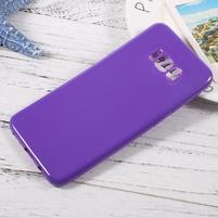 GT lesklý gelový obal na Samsung Galaxy S8 Plus - fialový