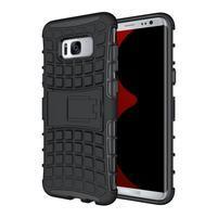 Outdoor odolný obal se stojánkem na Samsung Galaxy S8 Plus - černý