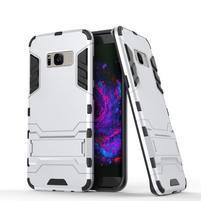 Guard odolný obal na mobil Samsung Galaxy S8 Plus - stříbrný