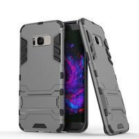 Guard odolný obal na mobil Samsung Galaxy S8 Plus - šedý