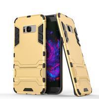 Guard odolný obal na mobil Samsung Galaxy S8 Plus - zlatý