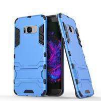 Guard odolný obal na mobil Samsung Galaxy S8 Plus - světlemodrý