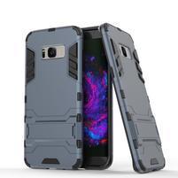 Guard odolný obal na mobil Samsung Galaxy S8 Plus - šedomodrý