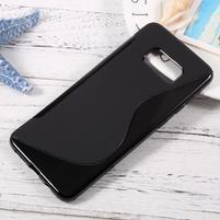 S-line gelový obal na mobil Samsung Galaxy S8 Plus - černý