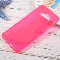 S-line gelový obal na mobil Samsung Galaxy S8 Plus - rose