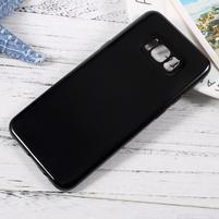 GT lesklý gelový obal na Samsung Galaxy S8 Plus - černý