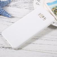 GT lesklý gelový obal na Samsung Galaxy S8 Plus - bílý