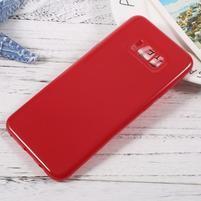 GT lesklý gelový obal na Samsung Galaxy S8 Plus - červený