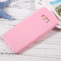GT lesklý gelový obal na Samsung Galaxy S8 Plus - růžový