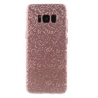 Mosaic plastový obal se vzorkem na Samsung Galaxy S8 Plus - růžovozlatý