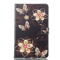 Patty knížkové pouzdro na tablet Samsung Galaxy Tab A 10.1 (2016) - květiny