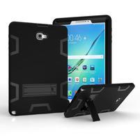KickStand odolný obal se stojánkem na Samsung Galaxy Tab A 10.1 NOTE - černý